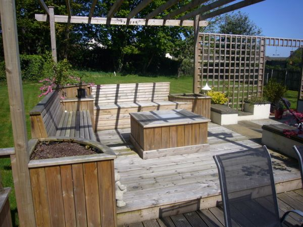 Deck Seating 2